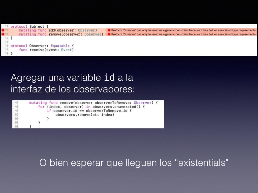 Agregar una variable id a la interfaz de los ob...