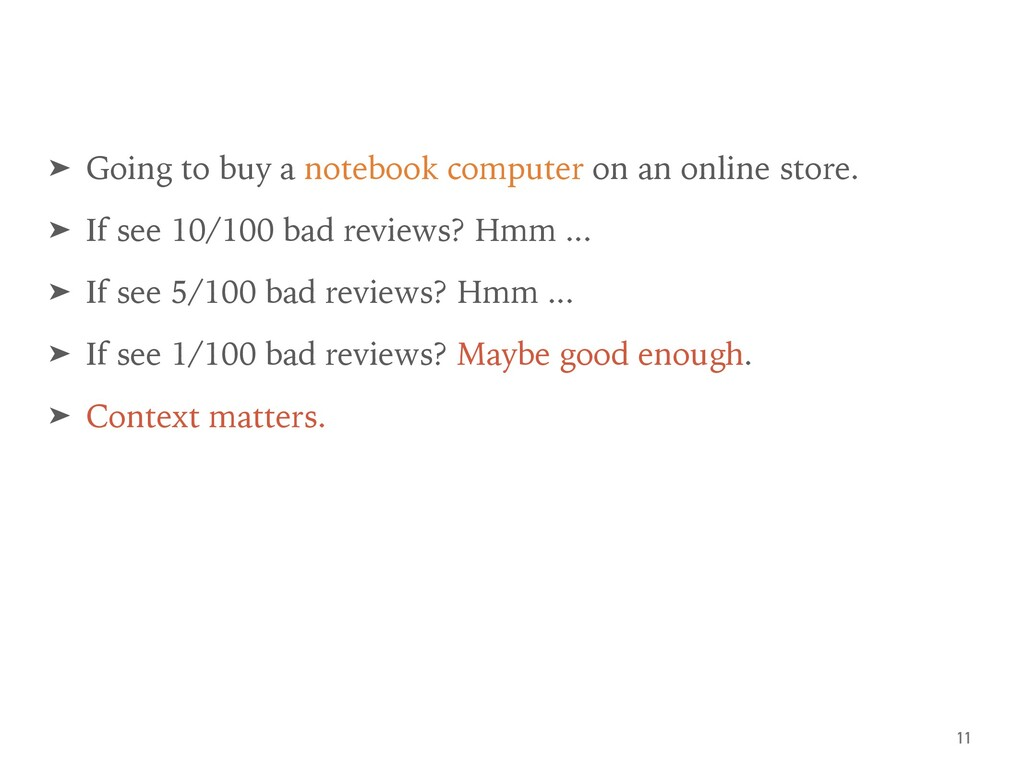 ➤ Going to buy a notebook computer on an online...