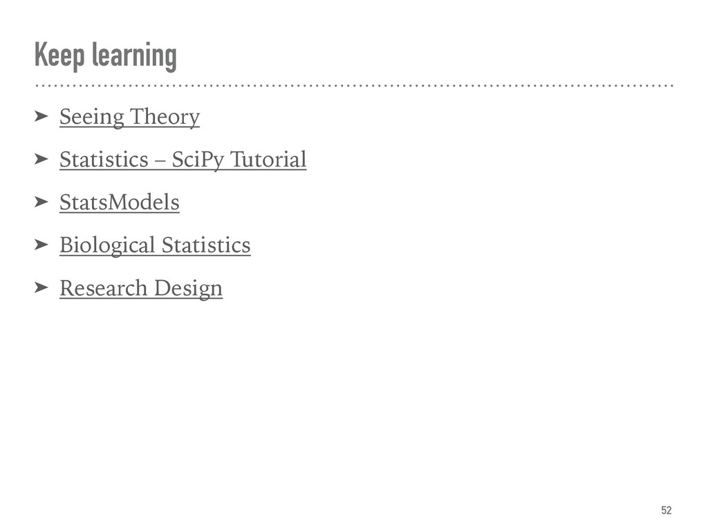 Keep learning ➤ Seeing Theory ➤ Statistics – Sc...