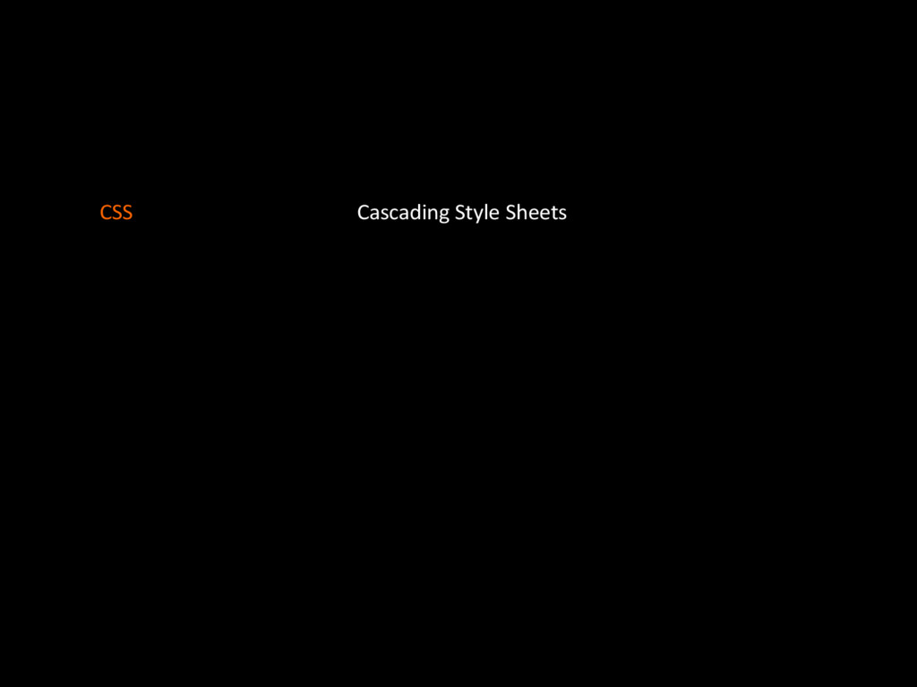 Cascading'Style'Sheets CSS