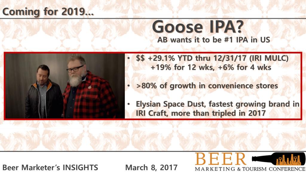 Beer Marketer's INSIGHTS March 8, 2017 Beer Mar...