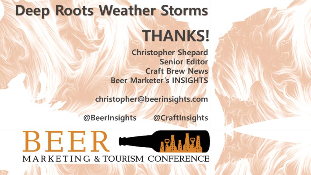 THANKS! Christopher Shepard Senior Editor Craft...