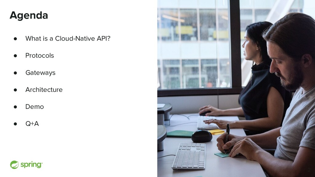 Cover w/ Image Agenda ● What is a Cloud-Native ...