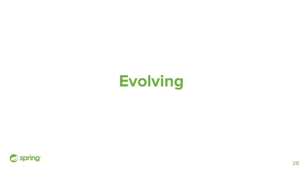 Evolving 28