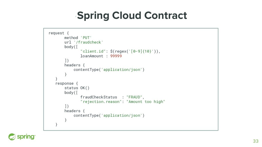' Spring Cloud Contract request { method 'PUT' ...