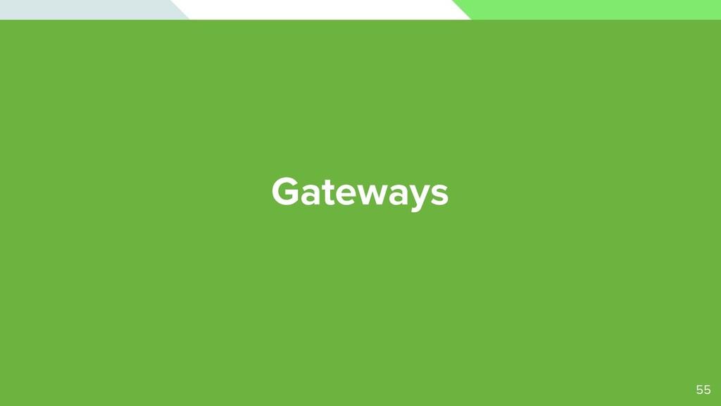 Gateways 55