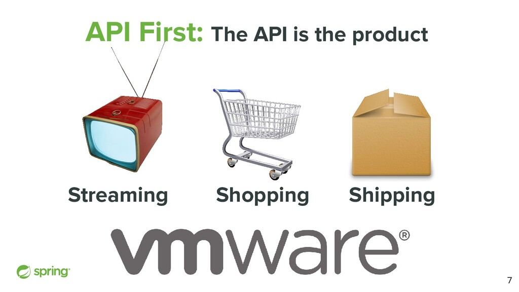 API First: The API is the product Streaming Sho...
