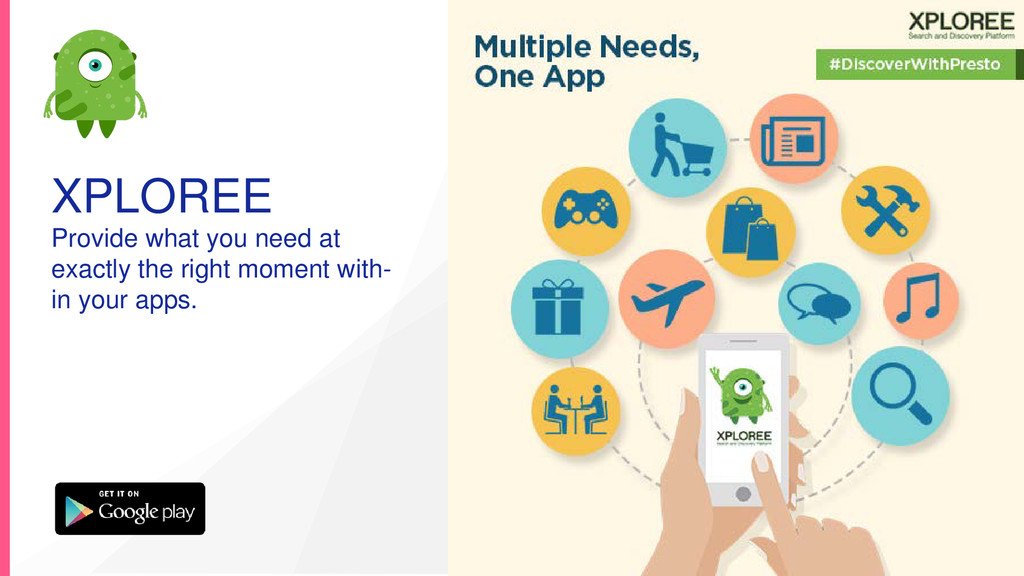 XPLOREE Provide what you need at exactly the ri...