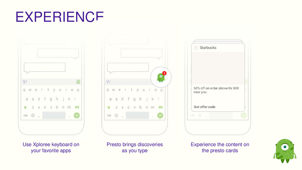 EXPERIENCE Use Xploree keyboard on your favorit...