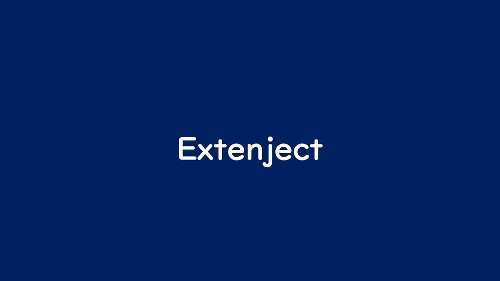 Extenject
