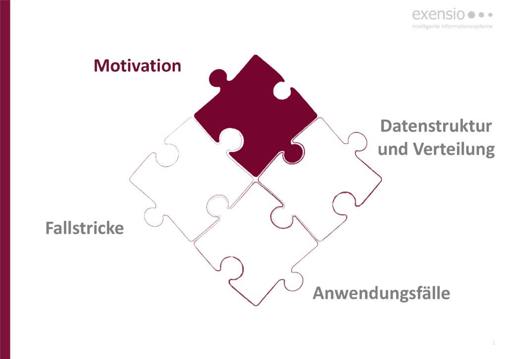 2 Anwendungsfälle Datenstruktur und Verteilung ...
