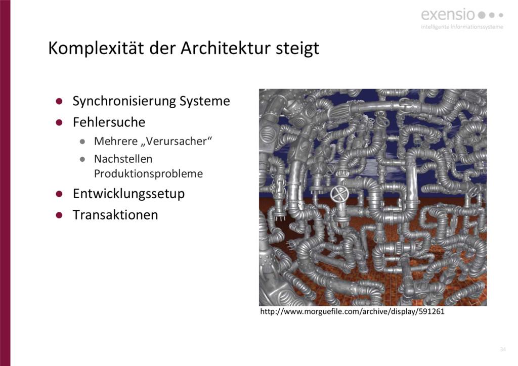 34 ● Synchronisierung Systeme ● Fehlersuche ● M...