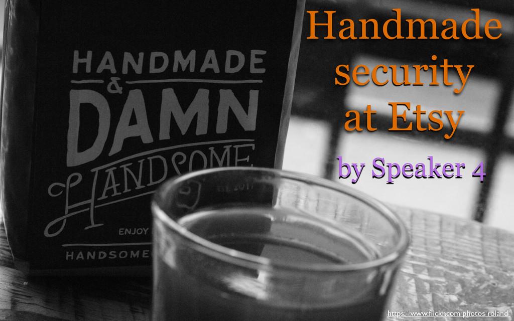 Handmade security at Etsy https://www.flickr.com...