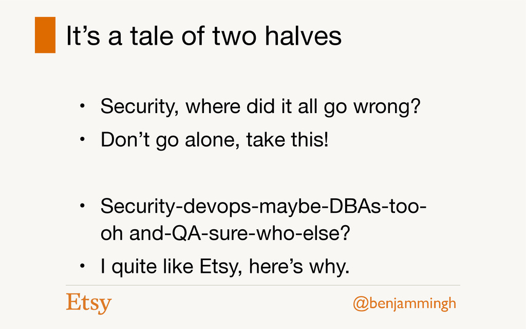 @benjammingh It's a tale of two halves • Securi...