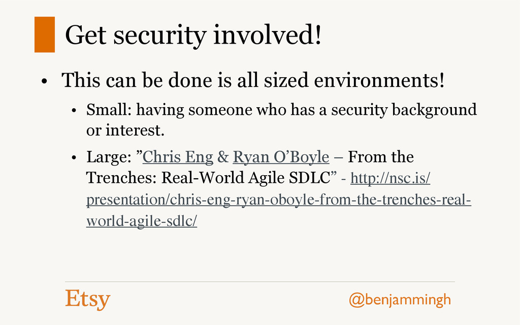 @benjammingh Get security involved! • This can ...