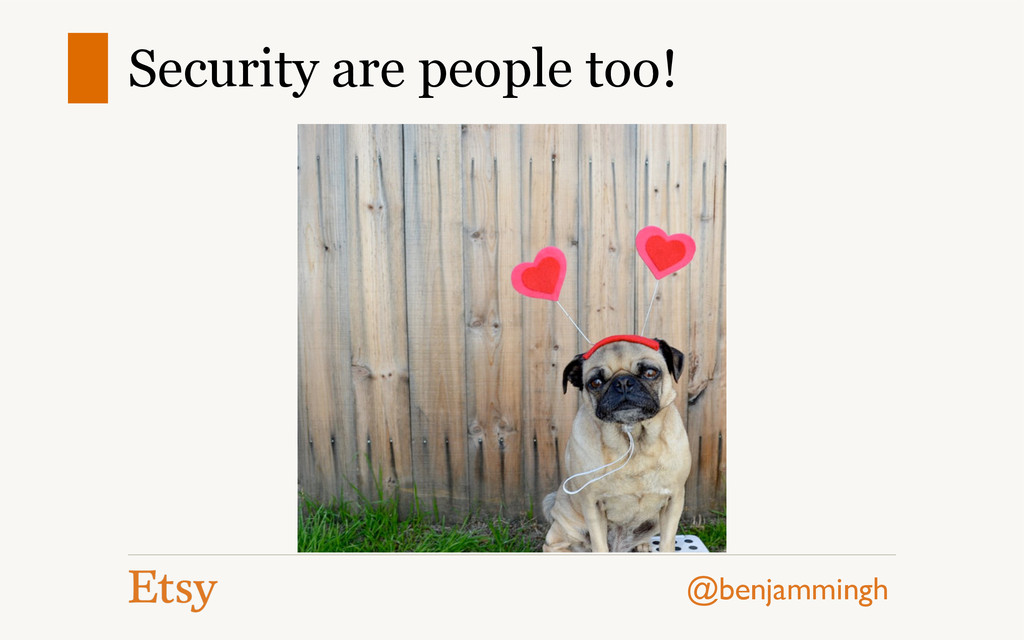 @benjammingh Security are people too!