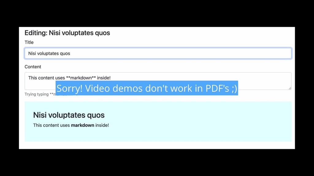 Sorry! Video demos don't work in PDF's ;)