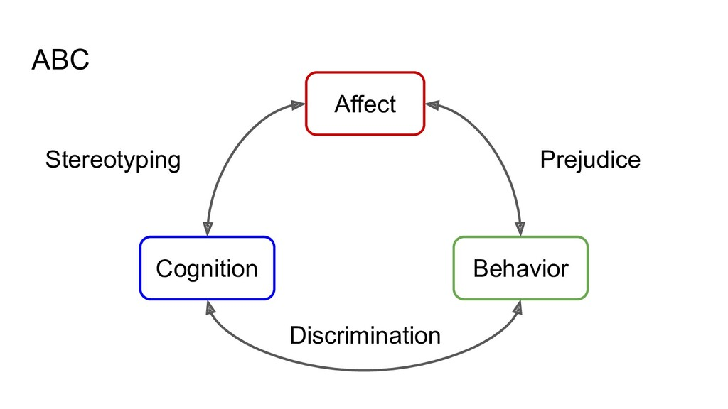 Stereotyping ABC Behavior Cognition Affect Prej...