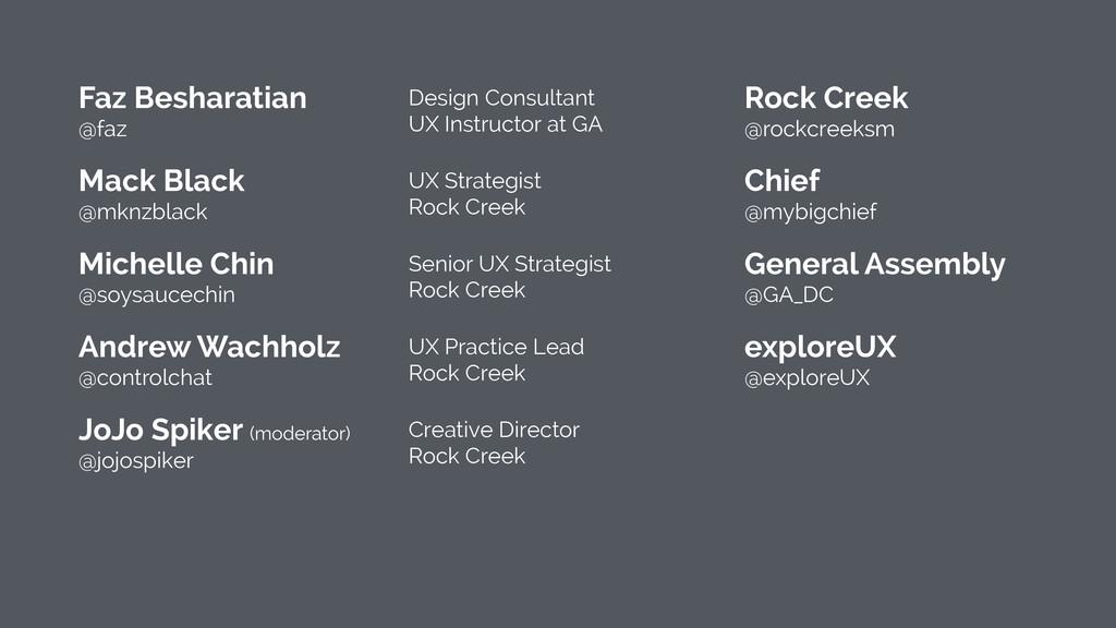 Faz Besharatian @faz Design Consultant UX Ins...