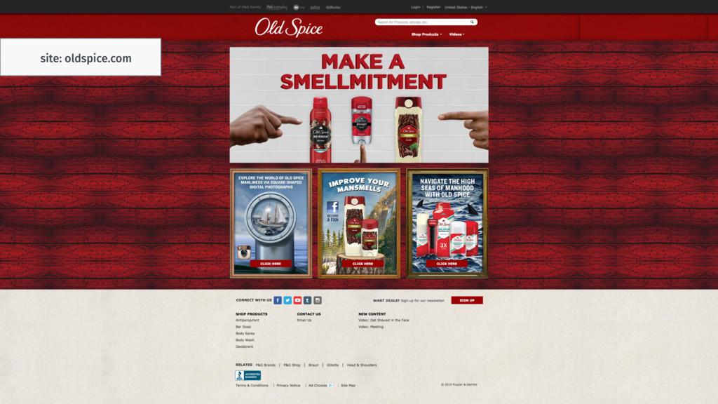 site: oldspice.com