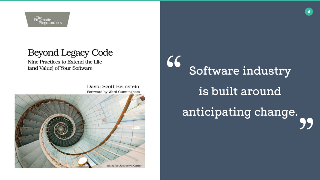 Software industry is built around anticipating ...