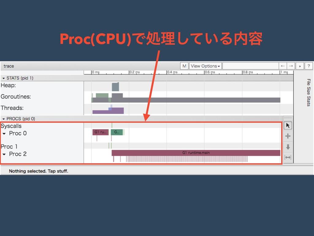 Proc(CPU)Ͱॲཧ͍ͯ͠Δ༰