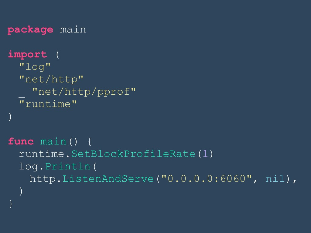 "package main import ( ""log"" ""net/http"" _ ""net/h..."