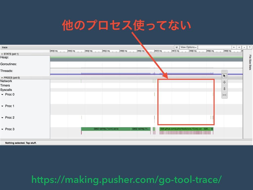 https://making.pusher.com/go-tool-trace/ ଞͷϓϩηε...