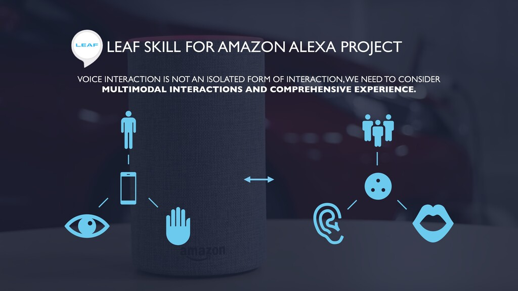 LEAF SKILL FOR AMAZON ALEXA PROJECT VOICE INTER...