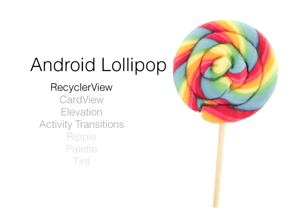 RecyclerView CardView Elevation Activity Transi...
