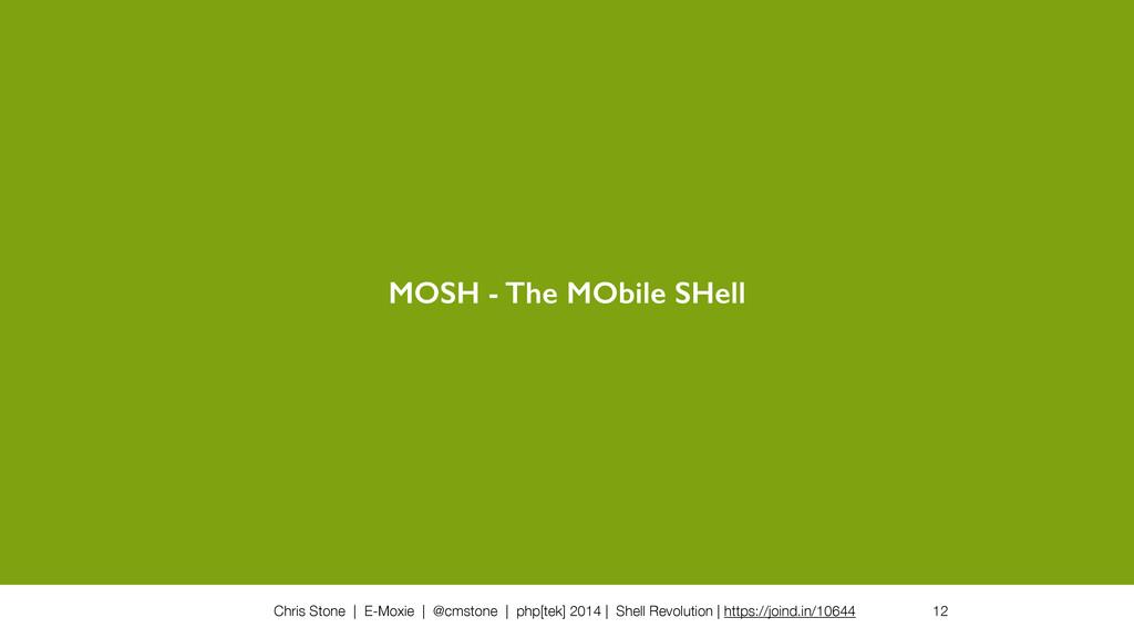 Chris Stone | E-Moxie | @cmstone | php[tek] 201...
