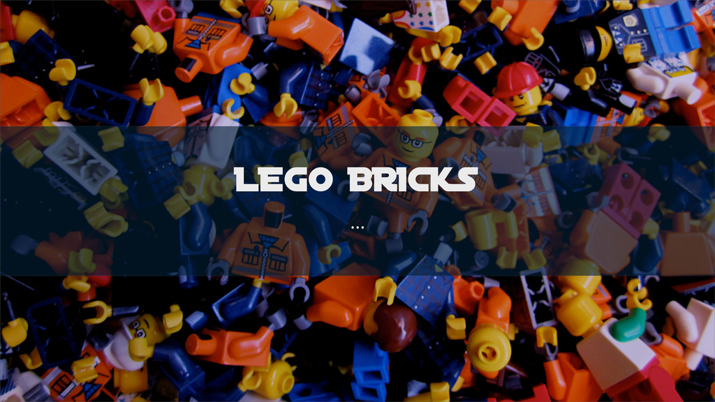 LEGO BRICKS ...
