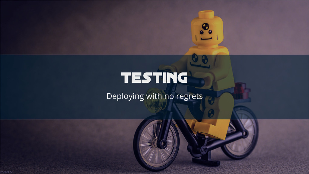 testinG Deploying with no regrets