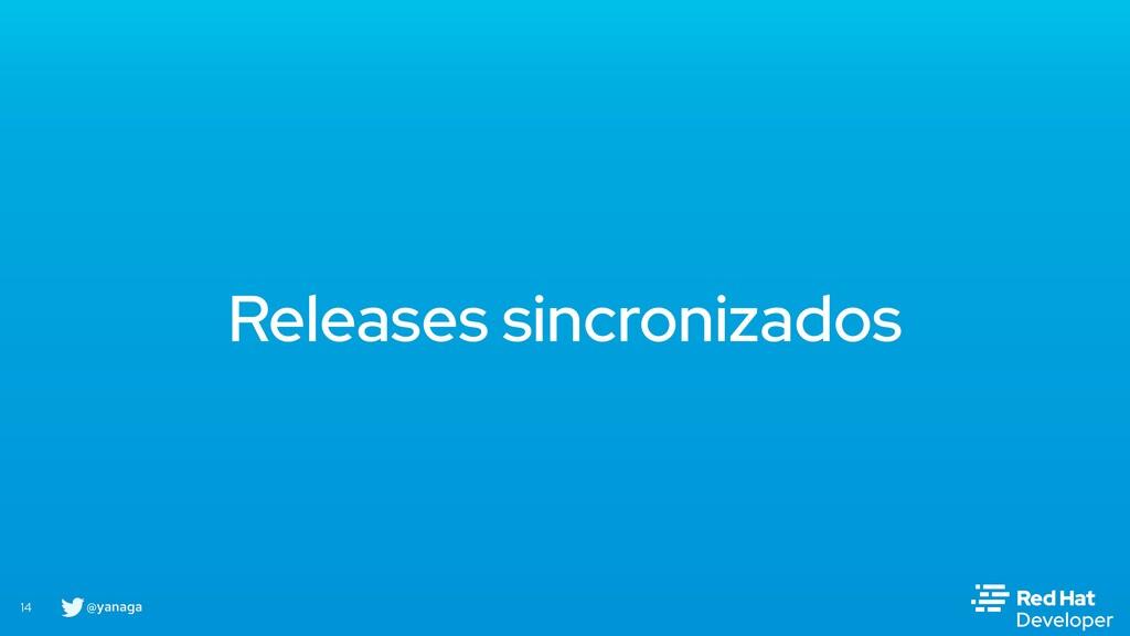 @yanaga 14 Releases sincronizados
