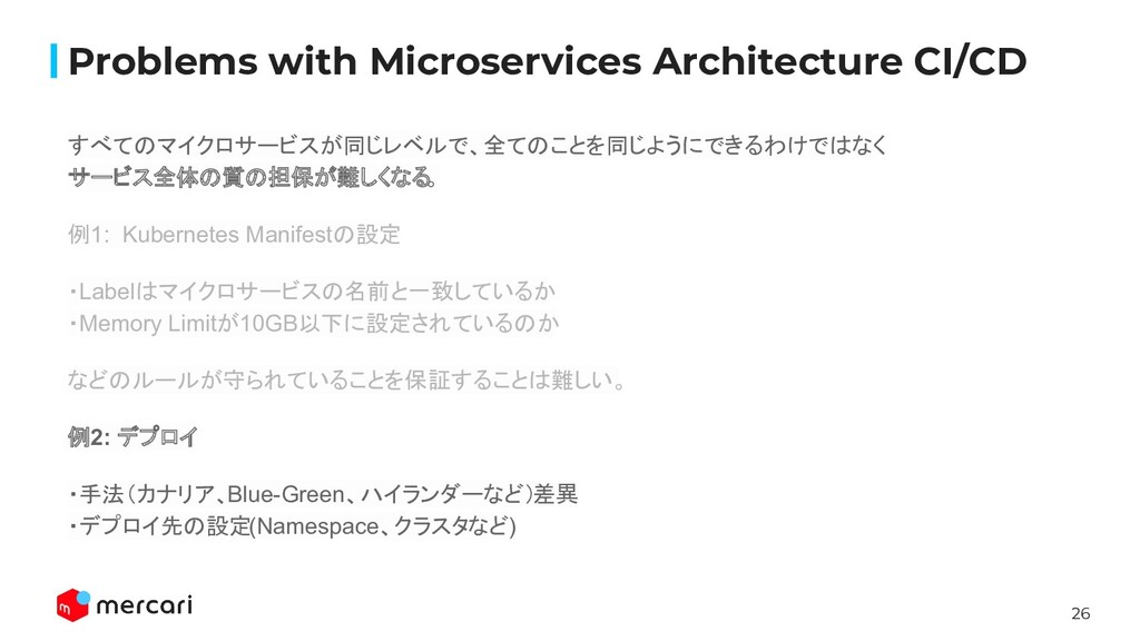 26 Problems with Microservices Architecture CI/...