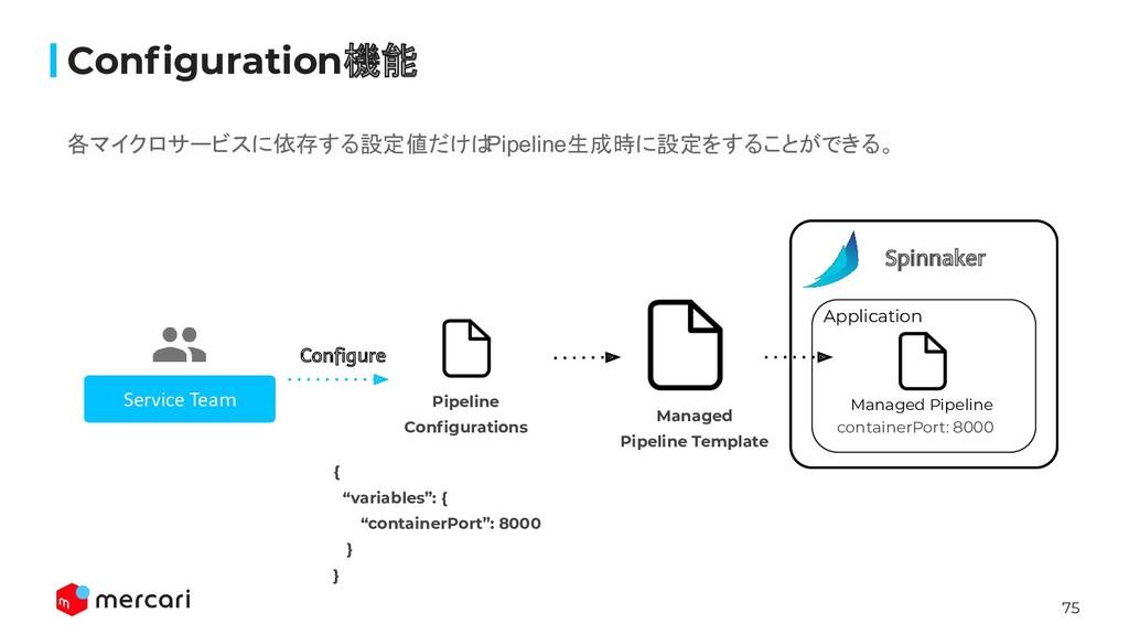 75 Service Team Configure Application Configurati...