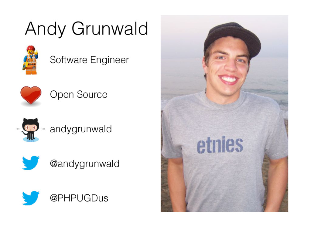 Andy Grunwald Software Engineer 