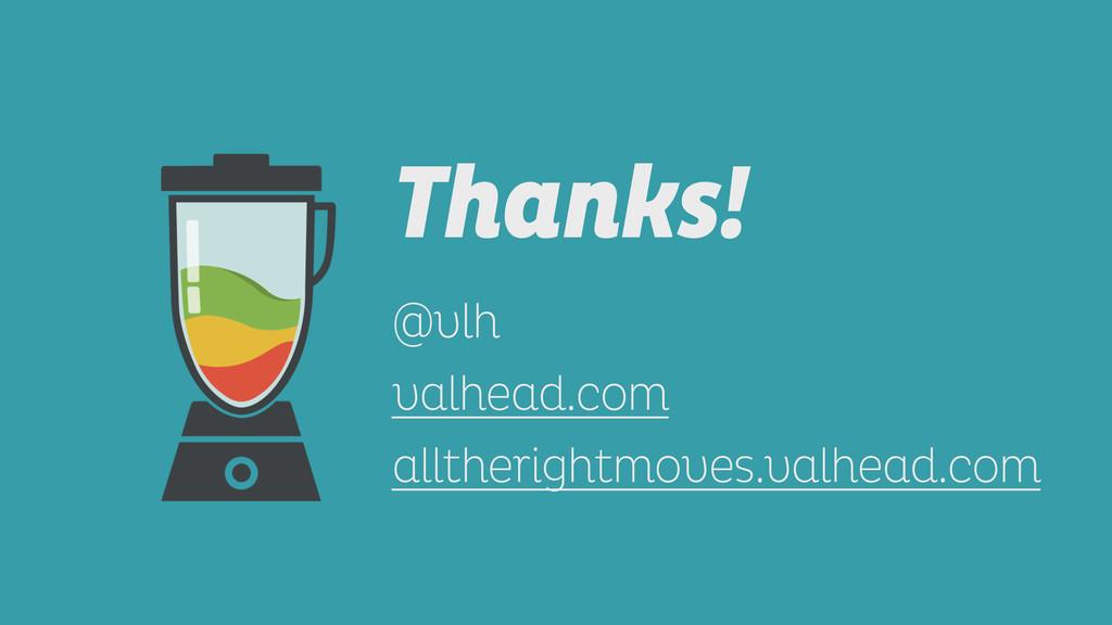 Thanks!  ! @vlh valhead.com alltherightmoves....