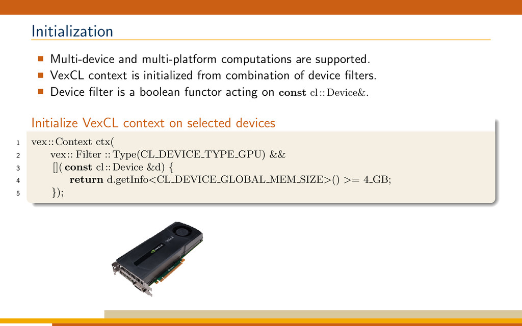 Initialization Multi-device and multi-platform ...