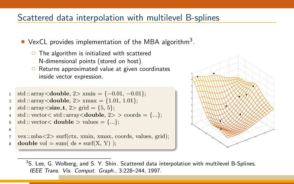 Scattered data interpolation with multilevel B-...
