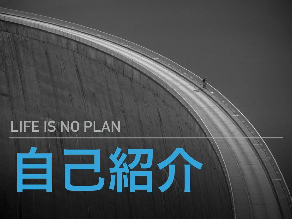 ࣗݾհ LIFE IS NO PLAN