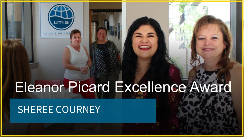 SHEREE COURNEY Eleanor Picard Excellence Award