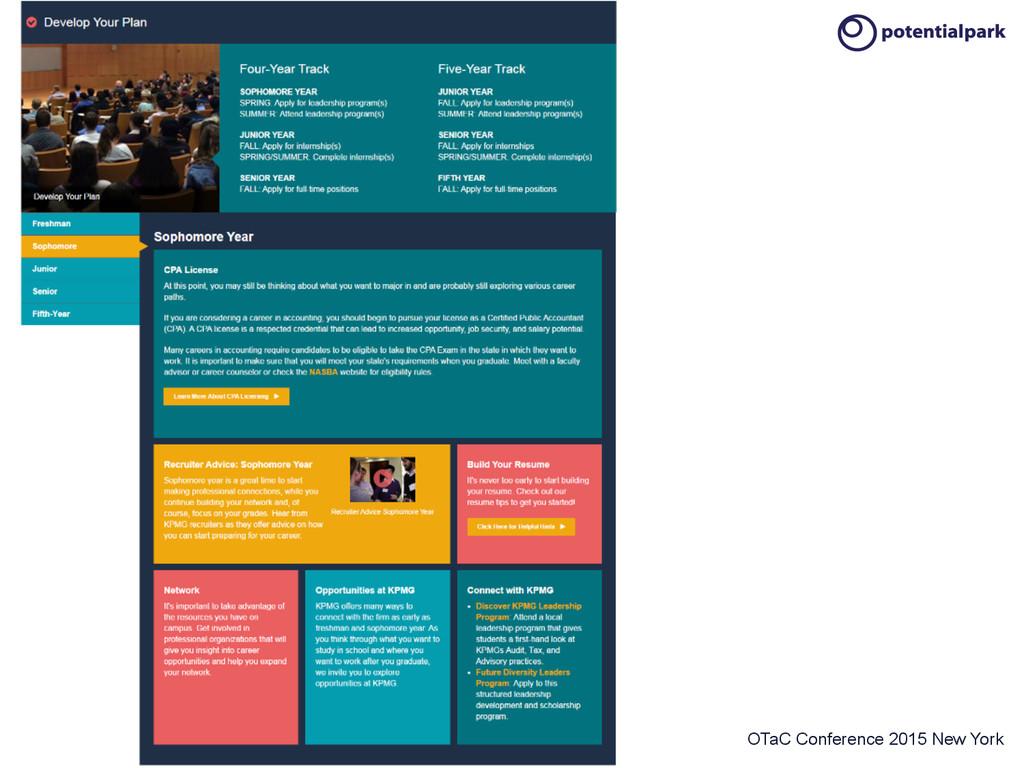 OTaC Conference 2015 New York