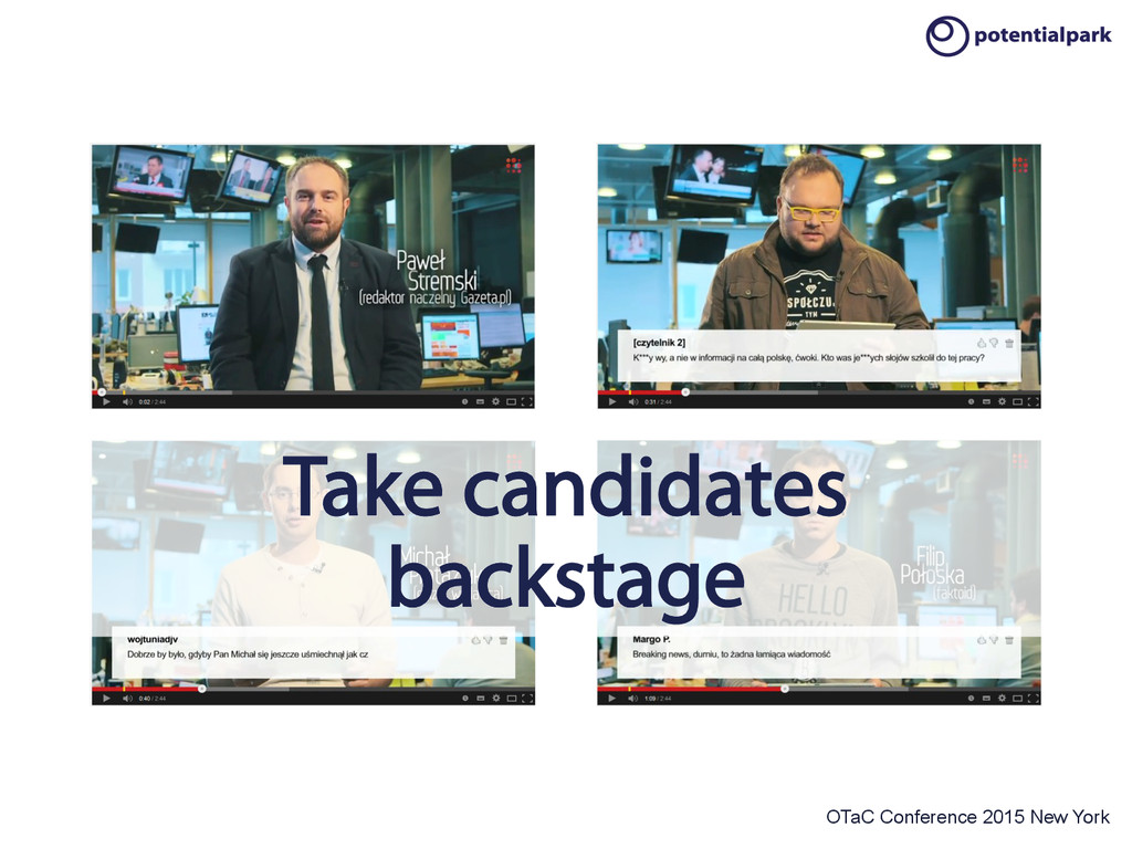 OTaC Conference 2015 New York Take candidates b...