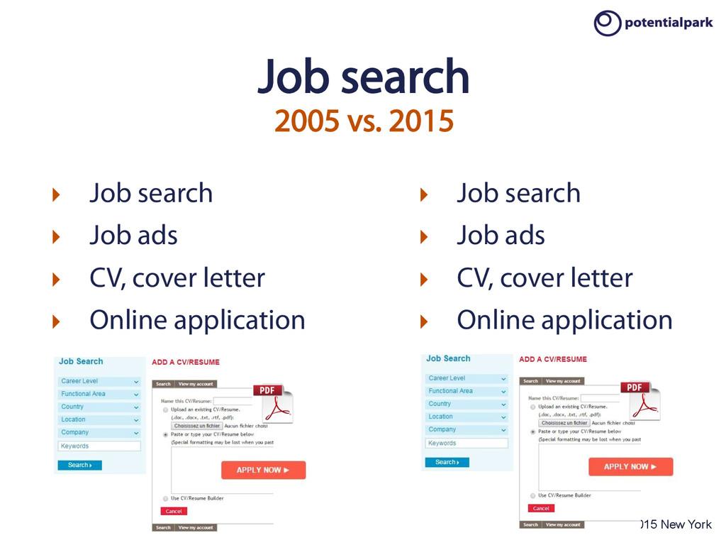 OTaC Conference 2015 New York Job search 2005 v...