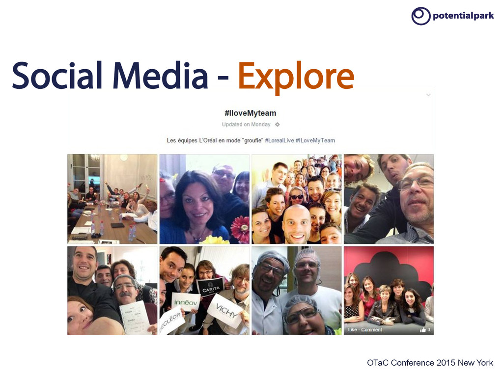 OTaC Conference 2015 New York Social Media - Ex...