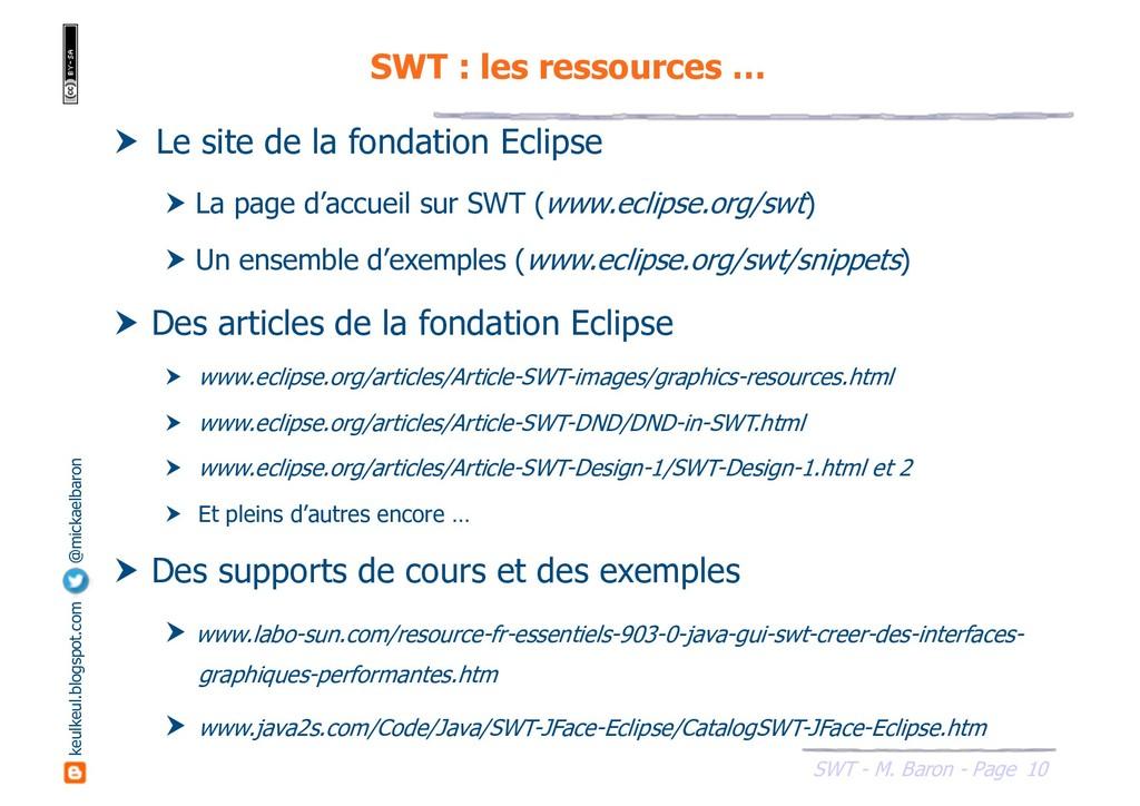 10 SWT - M. Baron - Page keulkeul.blogspot.com ...
