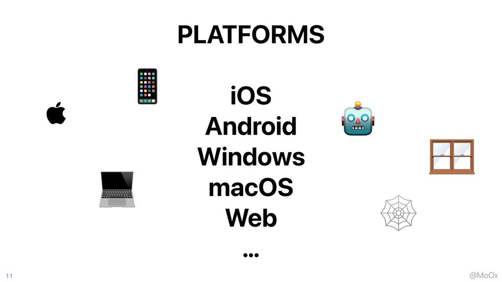 @MoOx PLATFORMS   iOS   Android   Windows   mac...