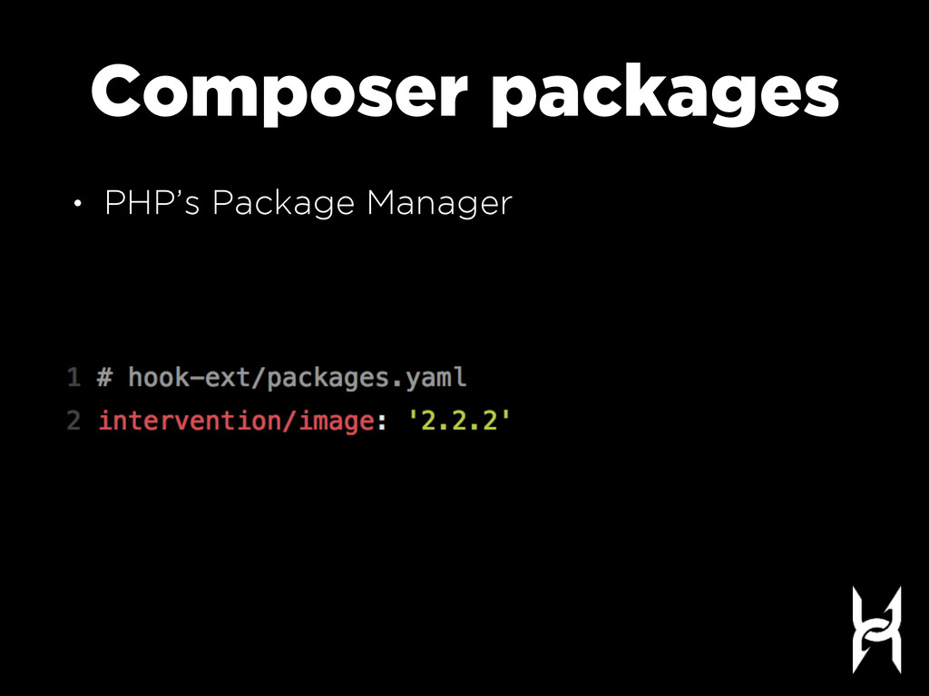 Composer packages • PHP's Package Manager