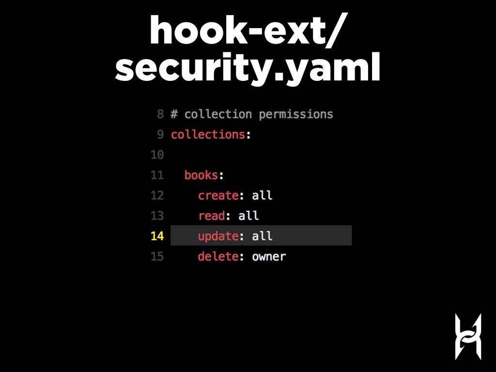 hook-ext/ security.yaml